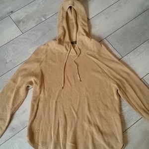 Ralph Lauren Beige Hooded Sweater
